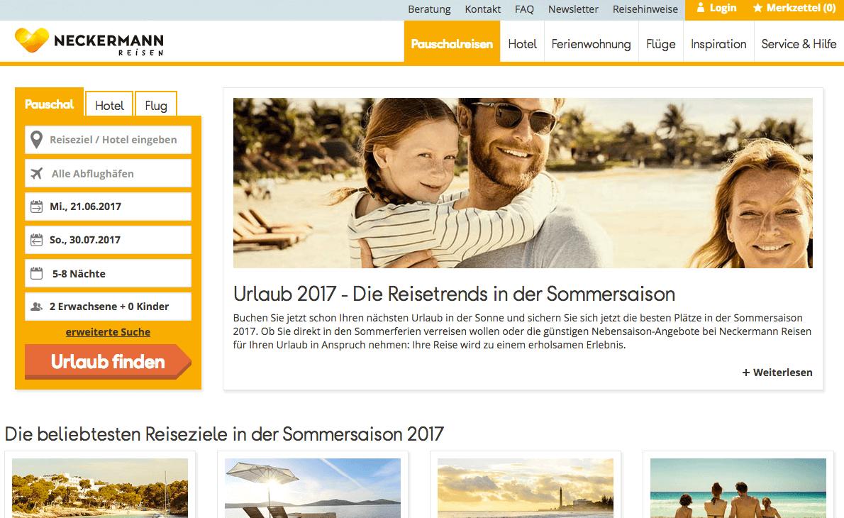 Neckermann Reisen Gutschein