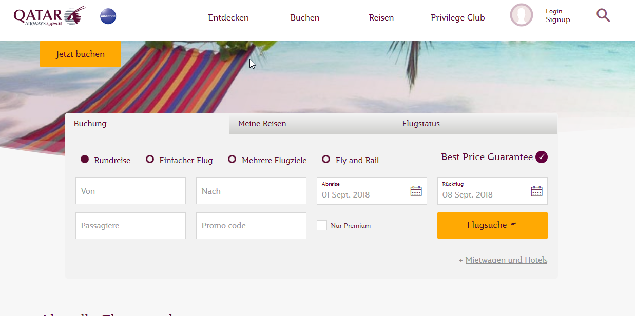 Qatar-Airways_PROMO_Code.png, Gutschein, Gutscheincode